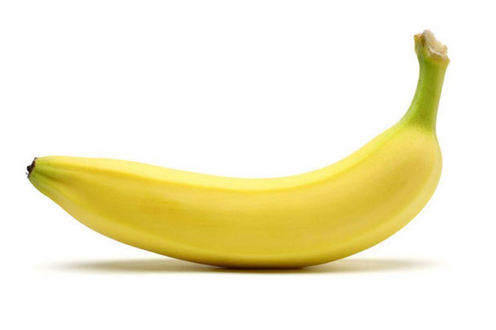 Gezonde supermarkt tussendoortjes voor wielrenners - banaan