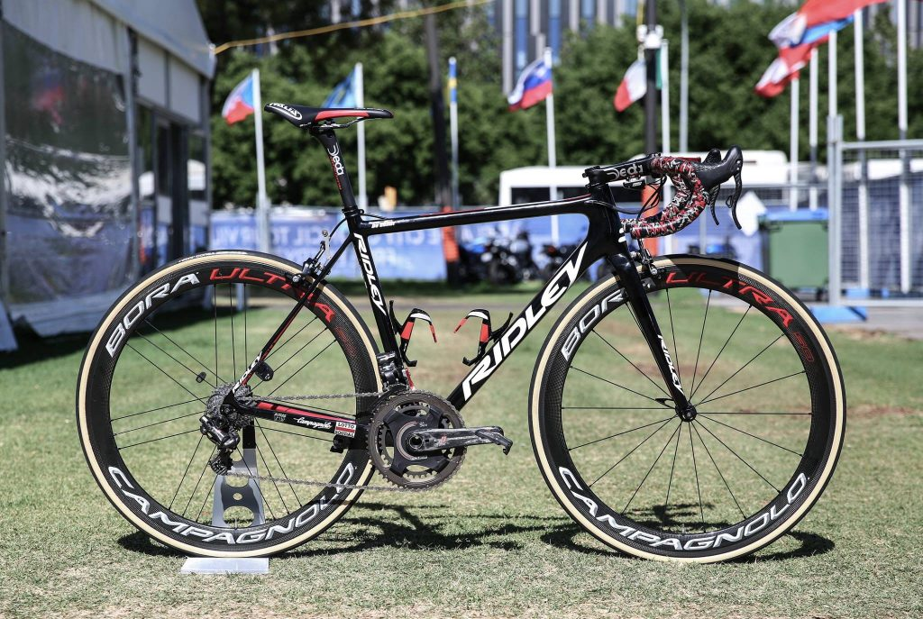 Lotto–Soudal racefiets