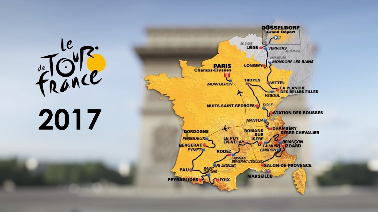 Tour de France 2017 racefietsen