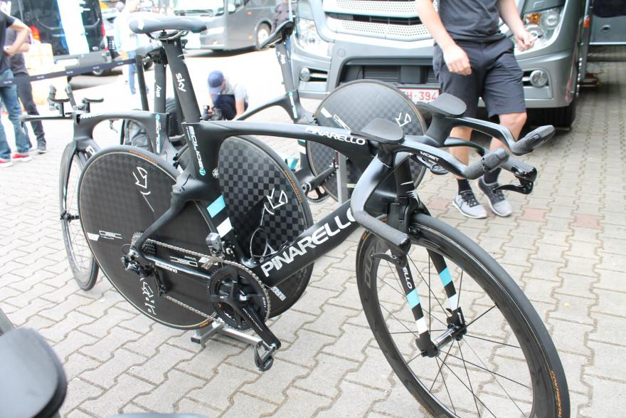 Geraint Thomas - Pinarello Bolide TT racefiets